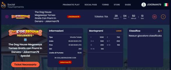 Social Tournaments Pragmatic Play